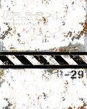 Metal danificado desgastado oxidado Fotos de Stock