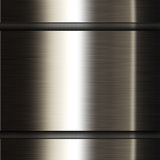 Metal dark background Stock Photo