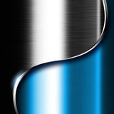 Metal dark background Stock Image