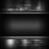 Metal dark background Royalty Free Stock Photos