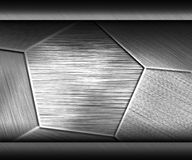 Metal dark texture neutral background Royalty Free Stock Image