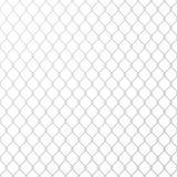 Metal de aço da rede de arame no fundo branco Ilustra??o do vetor ilustração royalty free