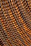 Metal de folha oxidado, rolado Imagem de Stock