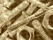 Metal de Grunge Imágenes de archivo libres de regalías