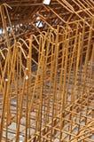 Metal de las barras de acero Foto de archivo libre de regalías