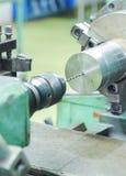 Metal de perforación y de torneado Imagen de archivo libre de regalías