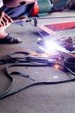 Metal de soldadura Imagens de Stock Royalty Free