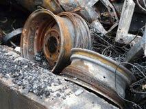 Metal Debris Royalty Free Stock Images