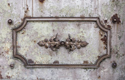 Metal decoration element Royalty Free Stock Photography