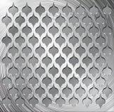 Metal decorative grid Stock Photos