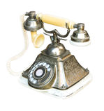Metal del teléfono retro Fotografía de archivo libre de regalías