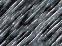 Metal dentado Fotos de archivo