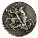 Metal a descrição da medalha Imagem de Stock Royalty Free