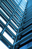 Metal design of an interior in a modern building, architecture and construction Royalty Free Stock Photo