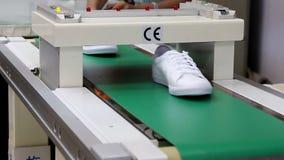 Metal detector machine stock video footage