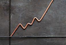 Metal Diagramm Stockfotos