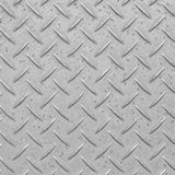 Metal diamond floor plate texture and background Royalty Free Stock Image