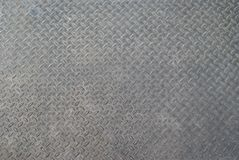 Metal diamond plate. For background use Stock Photography