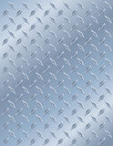Metal Diamond Plate stock photo