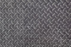 Metal diamond plate Stock Image