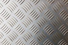 Metal diamond plate background Stock Photography