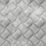 Metal diamond plate Stock Photography