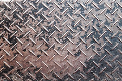 Metal diamond plate Royalty Free Stock Photo