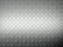Metal diamont plate. 3d image of metal grunge plate Royalty Free Stock Photos