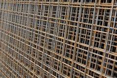 Metallreiforcing Masche Stockbild