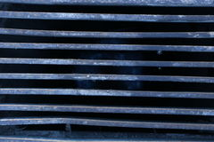 Metal dirty grids Royalty Free Stock Photos