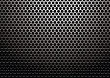 Metal do hexágono Foto de Stock