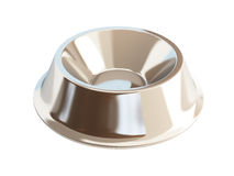 Metal dog dish Royalty Free Stock Photos