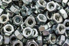 Metal dokrętki Zdjęcie Stock