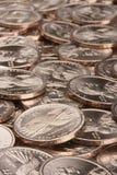 Metal dollars Royalty Free Stock Image