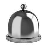 Metal dome isolated on white background Stock Images