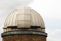 Metal dome of the observatory Stuttgart Royalty Free Stock Photo