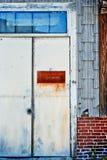 Metal door Stock Photo