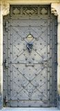 Metal door Royalty Free Stock Images