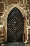 Metal door in an ancient fortress Royalty Free Stock Photo