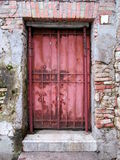 Metal door Royalty Free Stock Image