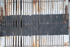 Metal door in Asia Royalty Free Stock Photo