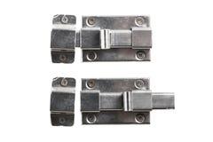 Metal door bolt Royalty Free Stock Image