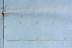 Metal Door Detail Royalty Free Stock Photography