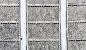 Metal door grilles Royalty Free Stock Photography
