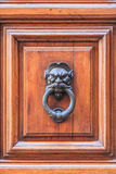 Metal door knocker ring Stock Images