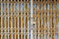 Metal door Royalty Free Stock Image
