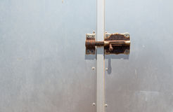Metal Door Rusty Bolt Royalty Free Stock Image