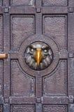 Metal door on Shipka Royalty Free Stock Photos