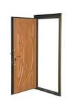 Metal door. Royalty Free Stock Image