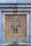 Metal doors Stock Photography